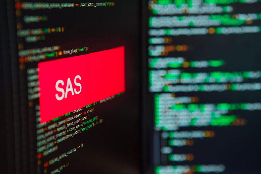 SAS data analytics software